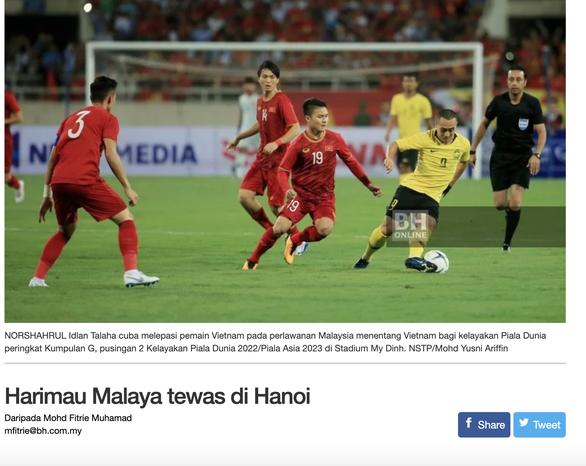 Báo Malaysia: Hổ Mã Lai bị bắn hạ ở Hà Nội - Ảnh 1.