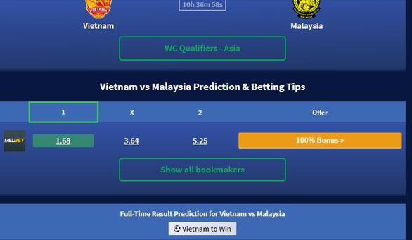 Chuyên gia bóng đá châu Á: Việt Nam thắng chắc! - Ảnh 1.