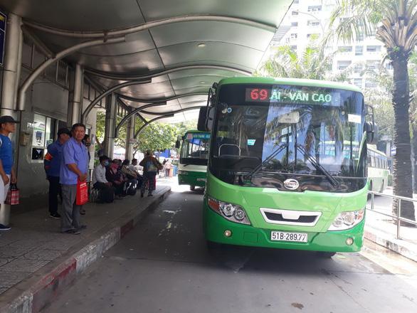 Từ 15-10, tuyến xe buýt 69 nối dài thêm hơn 3km giữ nguyên giá vé - Ảnh 1.