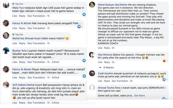 CĐV Malaysia: 'Muốn thắng thì đá với Sri Lanka chứ đừng đá với Việt Nam...' - Ảnh 1.