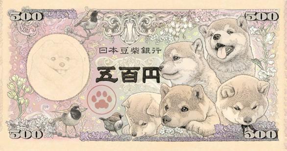 Nhật sắp phát hành tiền giấy in hình chó Shiba vào năm 2024? - Ảnh 1.