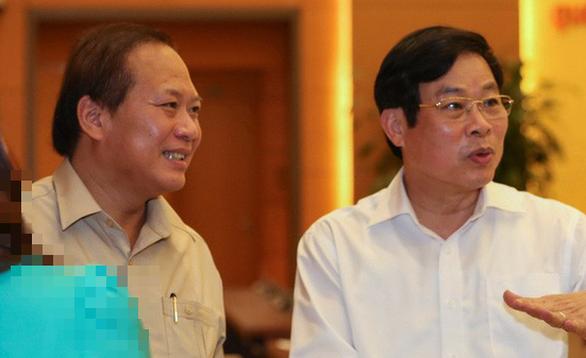 Khai trừ Đảng hai cựu bộ trưởng Nguyễn Bắc Son, Trương Minh Tuấn - Ảnh 1.