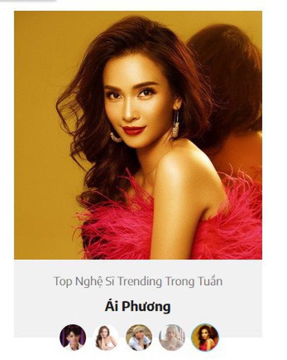 The Ai Phuong show 2 - trọn cả mùa vào top trending NhacCuaTui - Ảnh 3.
