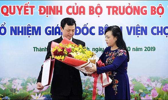 Bác sĩ 46 tuổi Nguyễn Tri Thức làm giám đốc Bệnh viện Chợ Rẫy - Ảnh 1.