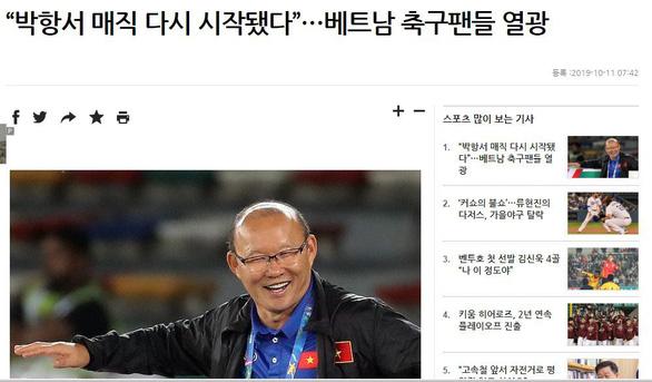 Báo Hàn: HLV Park Hang Seo sẽ giúp bóng đá Việt Nam viết nên trang sử mới - Ảnh 1.