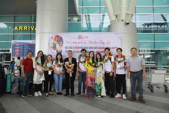 Sinh viên Duy Tân giành giải Á quân tại hội nghị sinh viên ASEAN - YMAC 2019 - Ảnh 3.