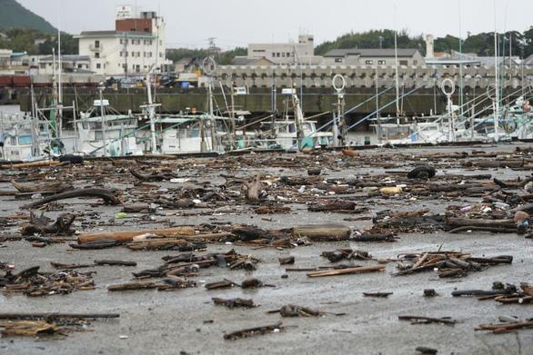 Siêu bão Hagibis xé toạc nhà cửa ở Nhật, đường sá chìm trong biển nước - Ảnh 9.