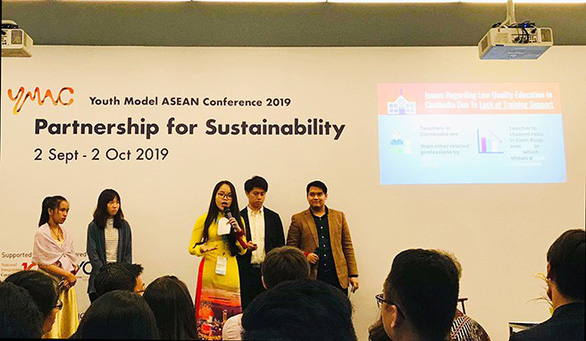 Sinh viên Duy Tân giành giải Á quân tại hội nghị sinh viên ASEAN - YMAC 2019 - Ảnh 1.