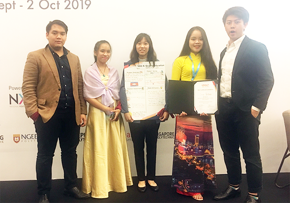Sinh viên Duy Tân giành giải Á quân tại hội nghị sinh viên ASEAN - YMAC 2019 - Ảnh 2.