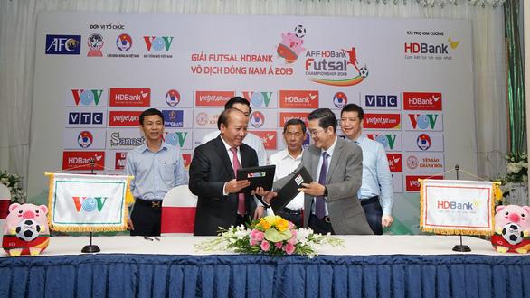 Đông Nam Á bị cắt suất dự giải châu Á, futsal Việt Nam phải nỗ lực vào tốp 3 - Ảnh 1.