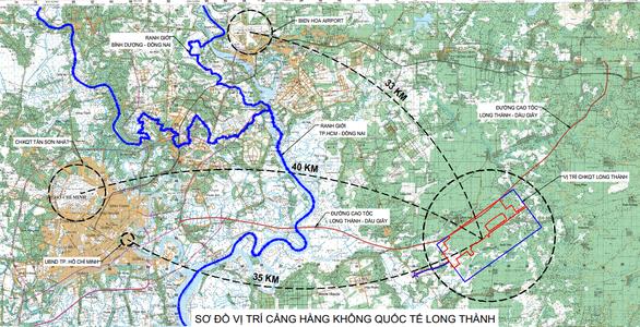 Sẽ có 3 tuyến đường bộ, 2 tuyến đường sắt kết nối sân bay Long Thành - Ảnh 1.