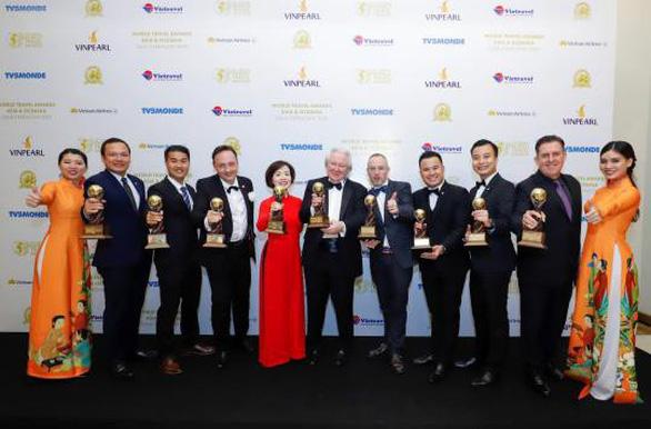 Vinpearl đạt 9 giải thưởng du lịch thế giới WTA 2019 - Ảnh 1.