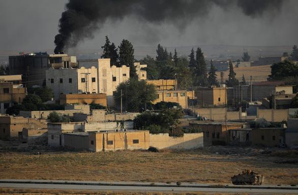 Ông Trump ra lệnh rút toàn quân khỏi bắc Syria - Ảnh 1.