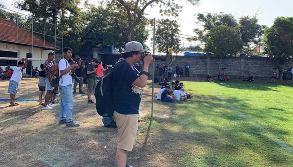 Tập buổi đầu tiên tại Bali, Indonesia chờ đánh bại Việt Nam - Ảnh 3.