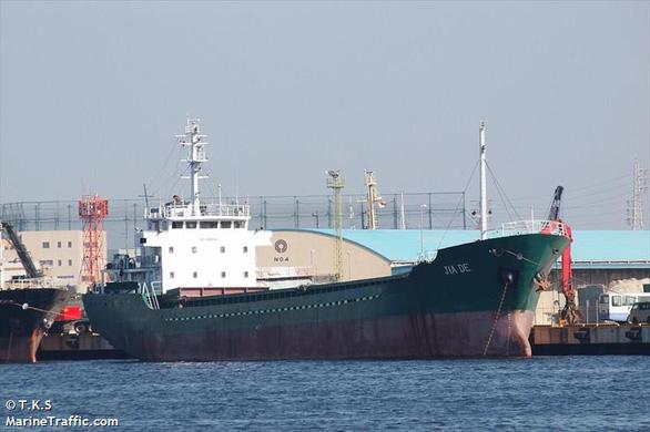 Hai thủy thủ Việt trên tàu bị chìm do bão Hagibis, một người được cứu sống - Ảnh 1.