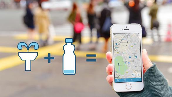 Ứng dụng MyMizu chống rác nhựa của Nhật Bản - Ảnh 1.