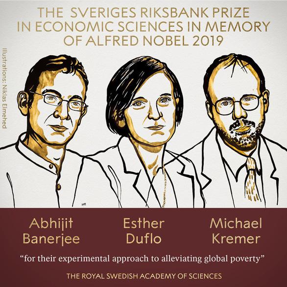 Nobel kinh tế 2019: vinh danh 3 nhà khoa học chống đói nghèo - Ảnh 1.
