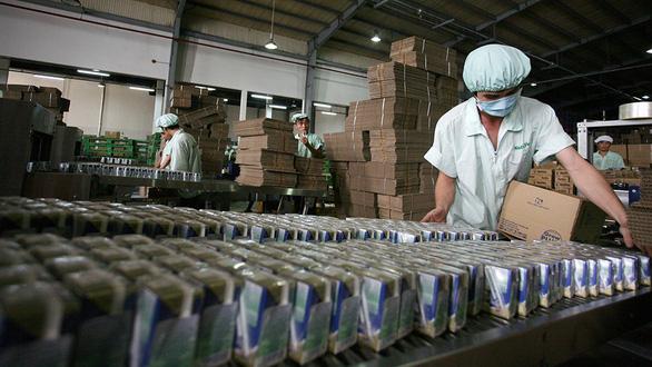 Sữa Việt bước vào thị trường Trung Quốc - Ảnh 1.