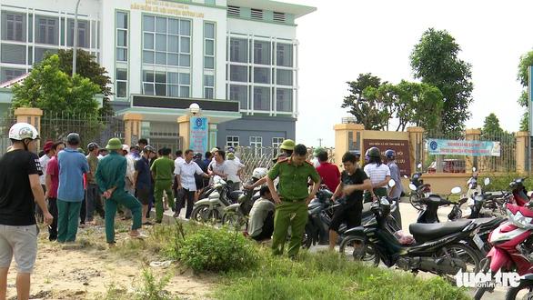 Án mạng tại BHXH Quỳnh Lưu: Nghi giết bảo vệ để trộm tài sản - Ảnh 2.
