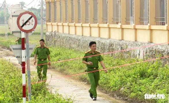 Công an Nghệ An truy tìm tang vật vụ bảo vệ BHXH bị giết - Ảnh 2.