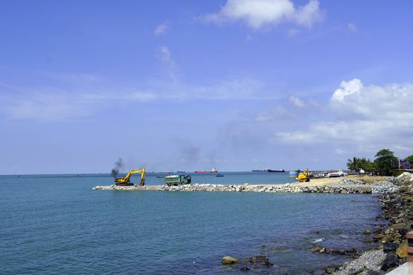 Tạm dừng thi công dự án lấp biển làm thủy cung ở Vũng Tàu - Ảnh 3.
