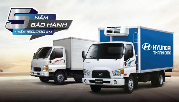 Xe thương mại Hyundai mở rộng hệ thống, nâng bảo hành lên 5 năm - Ảnh 1.