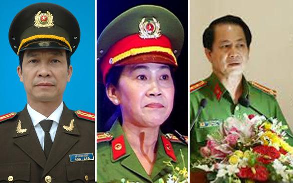 Bộ Công an thi hành kỷ luật 3 phó giám đốc Công an Đồng Nai - Ảnh 1.