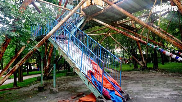 Công viên Tuổi trẻ Thủ đô: Nỗi xót xa giữa lòng Hà Nội - Ảnh 1.