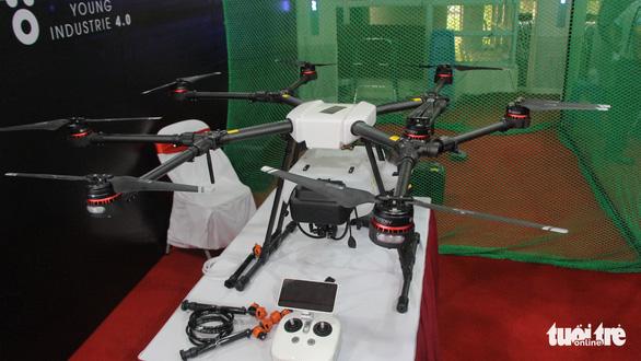 Xe đua F1, máy bay không người lái xuất hiện tại Đại hội Hội liên hiệp thanh niên Hà Nội - Ảnh 4.