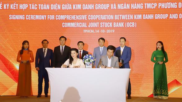 Kim Oanh Group hợp tác chiến lược với OCB, CornerStone Việt Nam và Trung Hậu - Ảnh 1.