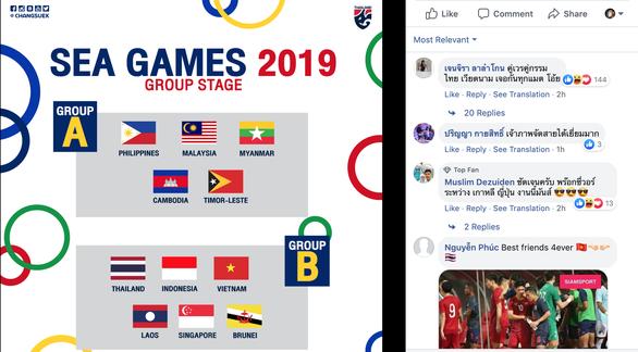 Bốc thăm SEA Games: CĐV Thái Lan 'nản' vì 'gặp Việt Nam hoài' - Ảnh 1.