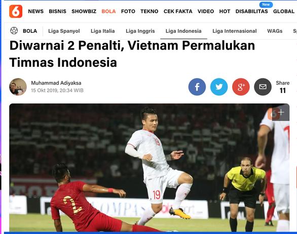 Liputan6: 'Tuyển Việt Nam khiến Indonesia xấu mặt' - Ảnh 1.