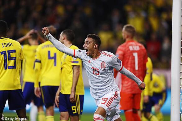 Hòa Thụy Điển ở phút bù giờ, Tây Ban Nha đoạt vé dự Euro 2020 - Ảnh 2.