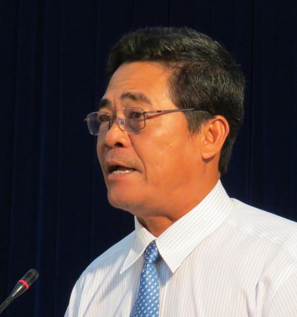 Cho ông Lê Thanh Quang thôi giữ chức bí thư Tỉnh ủy Khánh Hòa - Ảnh 1.