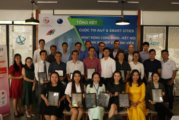 3 dự án giành giải nhất cuộc thi ý tưởng sáng tạo của TP.HCM - Ảnh 1.