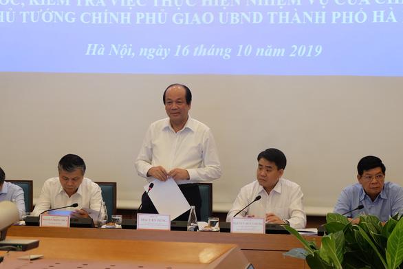 Thủ tướng: Hà Nội cần phản ứng sớm với các sự cố như vụ nước sạch sông Đà - Ảnh 1.