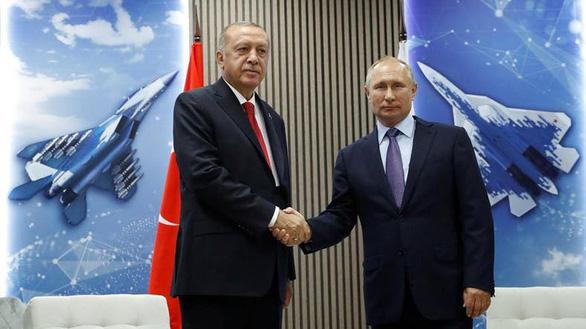 Nga mời Tổng thống Thổ sang bàn chuyện Syria - Ảnh 1.
