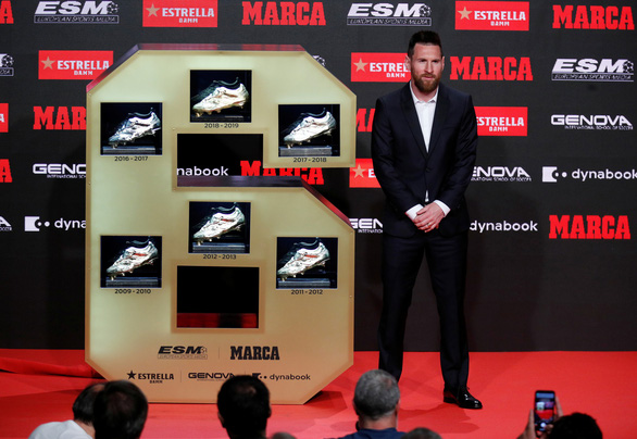 Messi lần thứ 6 đoạt Chiếc giày vàng châu Âu - Ảnh 6.