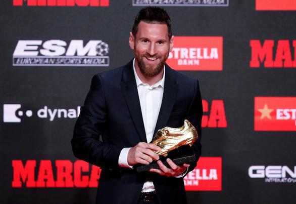 Messi lần thứ 6 đoạt Chiếc giày vàng châu Âu - Ảnh 4.