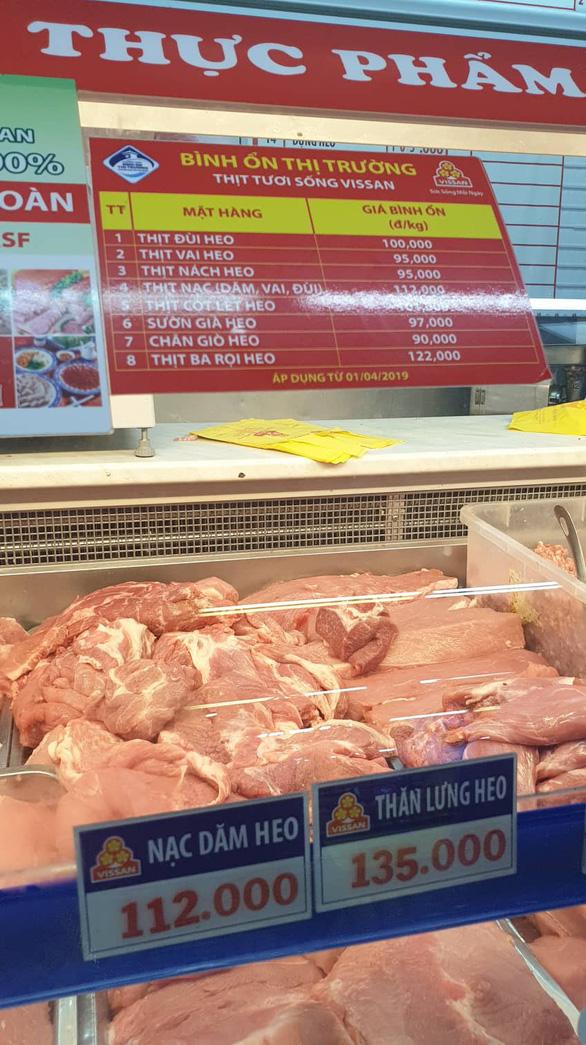 Nhiều siêu thị, công ty than lỗ vì không tăng giá bán thịt heo - Ảnh 2.