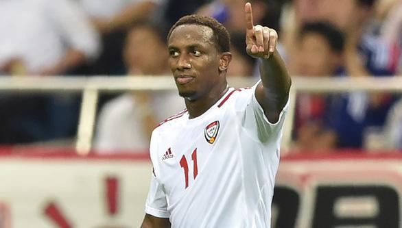 Thua Thái Lan, tiền đạo UAE Ahmed Khalil hứa thắng Việt Nam để bù - Ảnh 1.