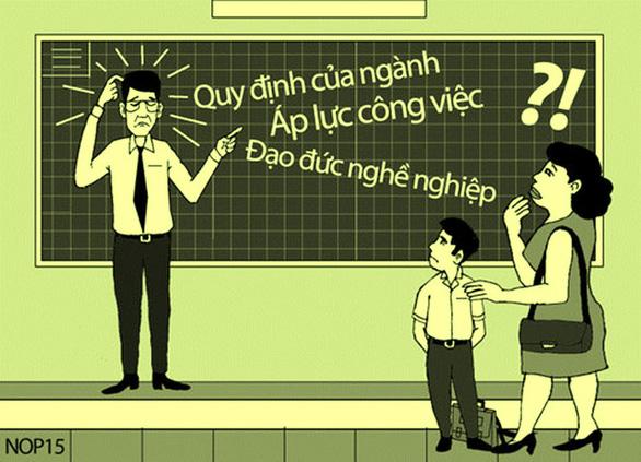 Giáo viên như mẹ hiền nên không được giận, to tiếng? - Ảnh 1.