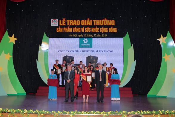 Mentinfo vinh dự nhận giải thưởng Sản phẩm vàng vì sức khỏe cộng đồng - Ảnh 2.