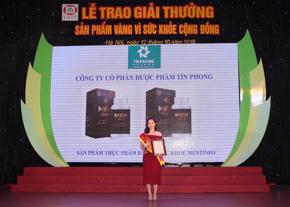 Mentinfo vinh dự nhận giải thưởng Sản phẩm vàng vì sức khỏe cộng đồng - Ảnh 4.