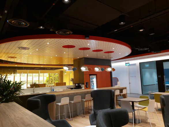 Khám phá trụ sở làm việc mới toanh của hàng nghìn nhân viên của Shopee - Ảnh 5.