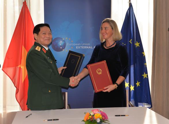 EU quan ngại về tình hình Biển Đông - Ảnh 1.