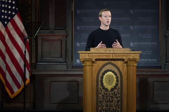Mark Zuckerberg tuyên bố Facebook không kiểm duyệt lời nói dối của chính trị gia - Ảnh 1.