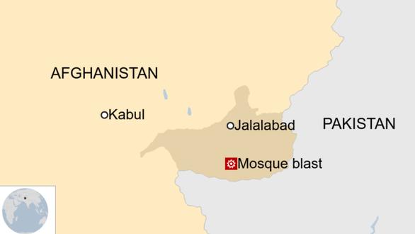 Đánh bom nhà thờ Hồi giáo ở Afghanistan, 62 người chết - Ảnh 1.