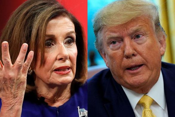 CNN: Tuần tới bà Nancy Pelosi sẽ chuyển nghị quyết luận tội ông Trump lên thượng viện - Ảnh 1.