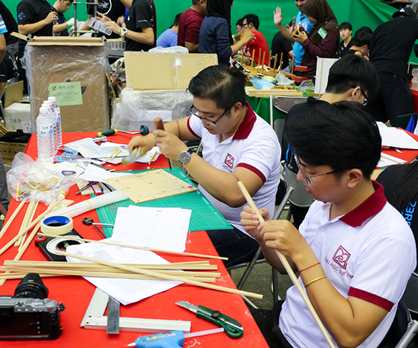 Sinh viên Duy Tân đoạt giải khuyến khích thiết kế nhà chống động đất 2019 - Ảnh 3.